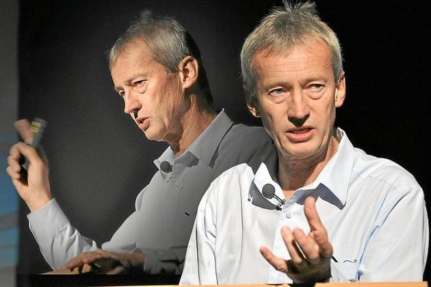 2012 – Dr. Martin Dziersk im Ballenlager