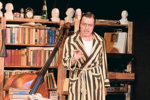 2011 – Helmut Thiele (Der Kontrabass) in der Kulturschmiede