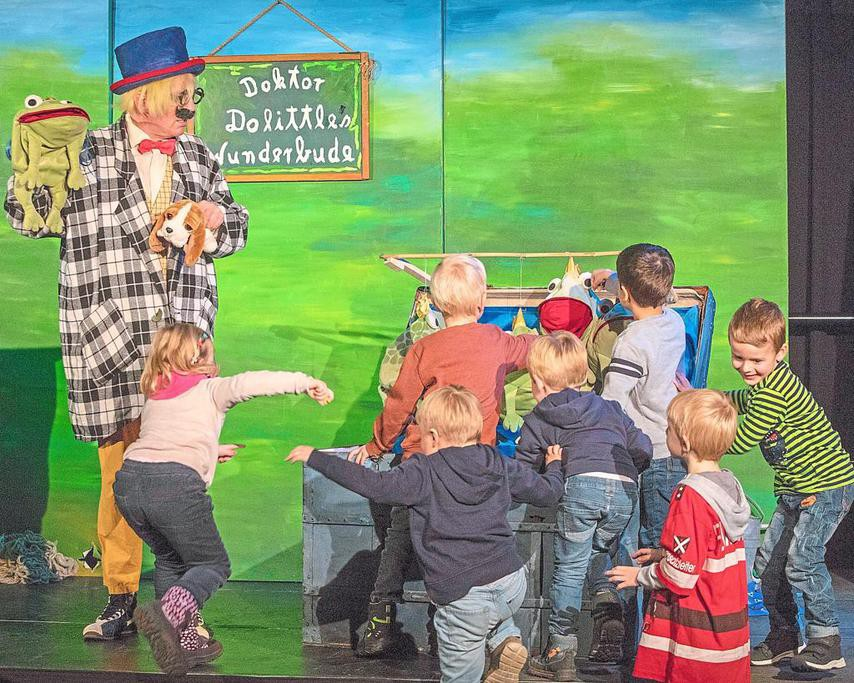 Kindertheater Don Kidschote in der Kulturschmiede