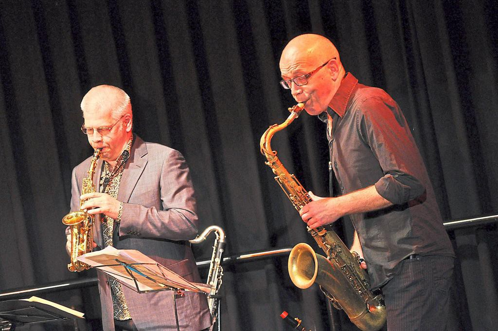 Talking Horns in der Kulturschmiede