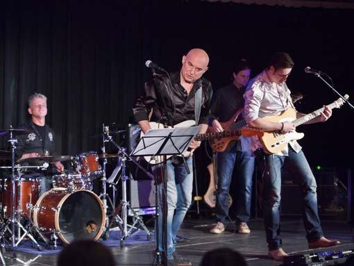 2015 – Zed Mitchell und Band in der Kulturschmiede
