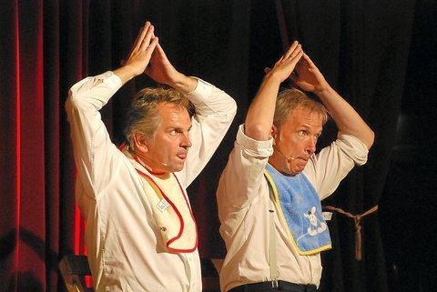 2009 – Bullemänner im Ballenlager